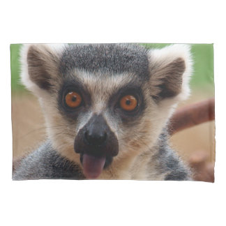 Lemur Pillowcase