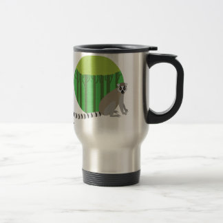 Lemur Stainless Steel Travel Mug