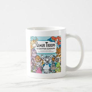 Lemur Troops & Critter Groups Coffee Mug