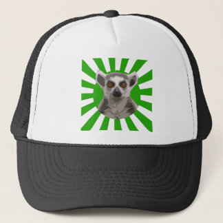 Lemur Trucker Hat
