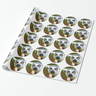 """""""Lemur"""" Wrapping Paper"""