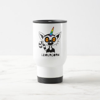 LemurCorn Travel Mug