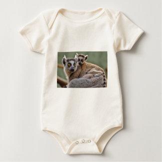 Lemurs Baby Bodysuit