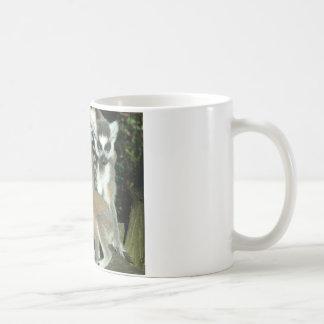Lemurs Basic White Mug