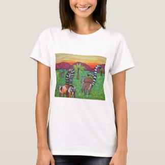 Lemurs in the grass T-Shirt