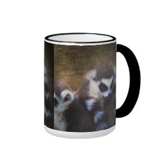 Lemurs Ringer Mug