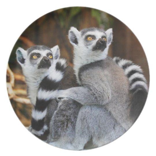 Lemurs Plate