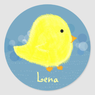 Lena Cute Baby Chick Sticker