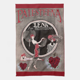 Lena from Palesteena kitchen towel