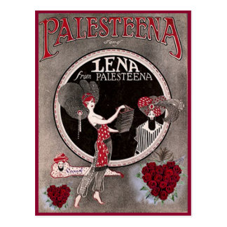 Lena from Palesteena postcard