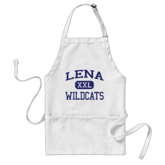 Lena - Wildcats - High School - Lena Wisconsin Adult Apron