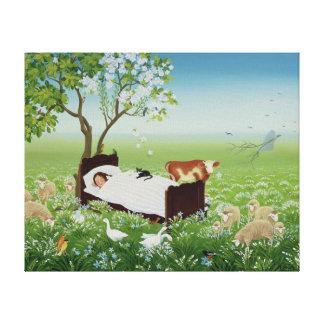 Lena's Dream Canvas Print