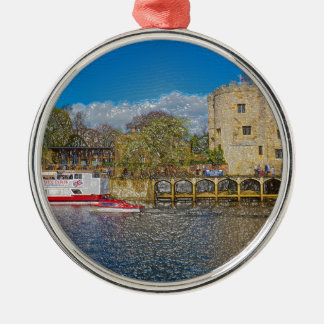 Lendal tower and bridge York Christmas Ornament