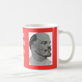 Lenin 2_dibujo_1901 wikimedia copy basic white mug
