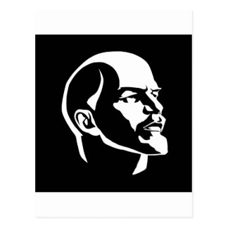 Lenin Head Postcard