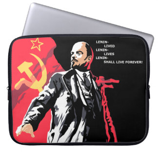 Lenin Lives! Laptop sleeve