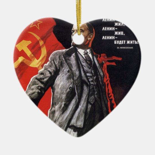 Lenin - Russian Communist Christmas Ornament