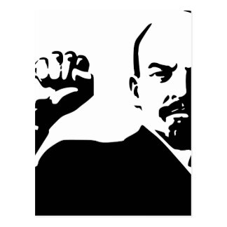 Lenin the fist in the airs