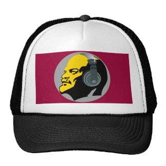 LENIN WITH HEAPHONES Trucker Hat