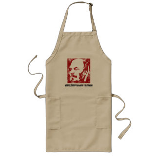 Lenin (worn look) long apron