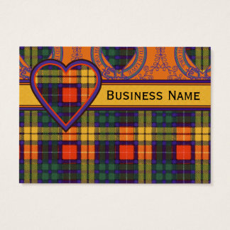 Lennie clan Plaid Scottish kilt tartan Business Card