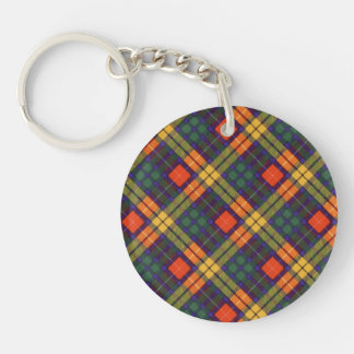 Lennie clan Plaid Scottish kilt tartan Key Ring