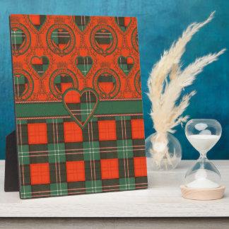 Lennox Scottish Tartan Plaque