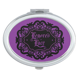 Lenore's Lace compact Travel Mirrors