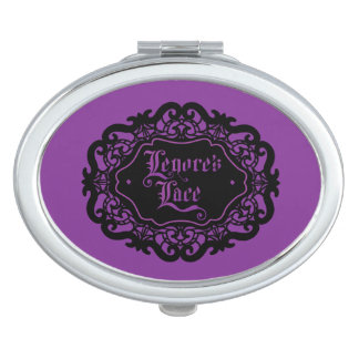 Lenore's Lace compact Vanity Mirror