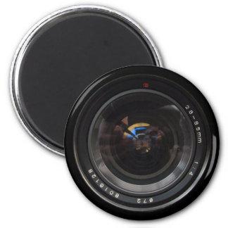 Lens1 6 Cm Round Magnet