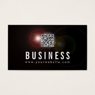 Lens Flare Psychiatrist Business Card