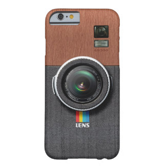 Lens GW300 - Wooden Gentleman Vintage Camera Barely There iPhone 6 Case