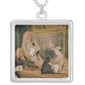 L'Enseigne de Gersaint, 1720 Silver Plated Necklace