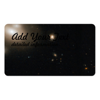Lenticular Galaxy in the Coma Cluster with Numero Pack Of Standard Business Cards