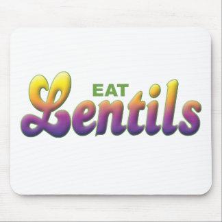 Lentils Eat Mousepad