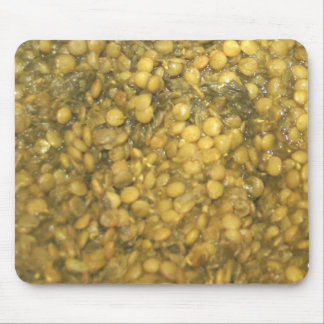 Lentils & Spinach Mousepad !