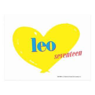 Leo 3 postcard