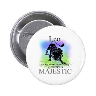 Leo About You 6 Cm Round Badge