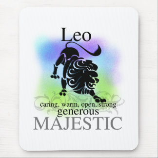 Leo About You Mouse Pad