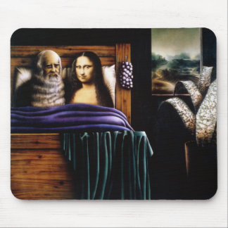 Leo and Mona Mouse Mat