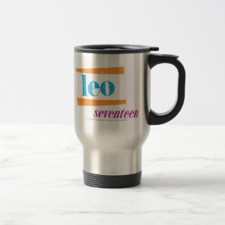 Leo Aqua Travel Mug
