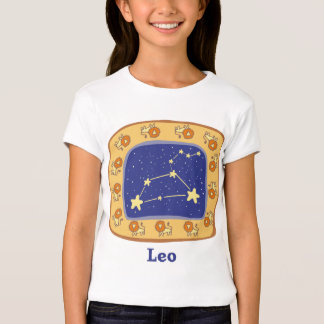 Leo Astrology Kid's and Baby Tees
