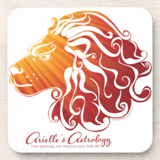 Leo Astrology Products ~ Coasters