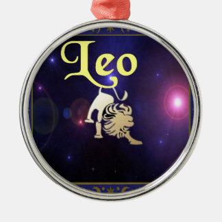Leo Christmas Ornament