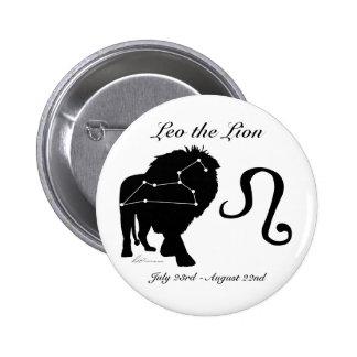Leo Constellation/Zodiac Button