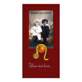 LEO CUSTOMISED PHOTO CARD