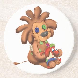 Leo Dog Coaster