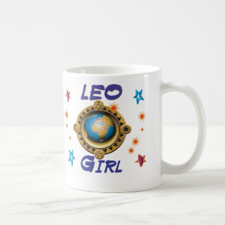 LEO Girl Coffee Mug