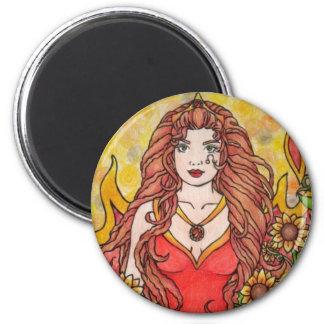 Leo Goddess Magnet