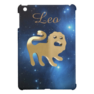 Leo golden sign cover for the iPad mini